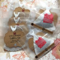 Double Happiness Custom Tea Label and Tea bags - Tea leaves included on Etsy, $70.00