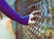women hdr photography chain link fence 2560x1600 wallpaper