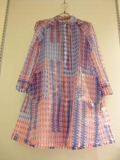 mint raincoat