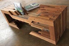 reclaimed wood table ( #recycled #furniture #diy #furnishings #home ) | H U M Λ N™ | нυмanΛCOUSTICS™ | н2TV™