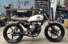 Modelos Honda e Yamaha de 125 cc são os mais customizados