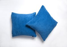 A pair of Royal Blue cushion Covers. Link to shop in bio. Blue Cushion Covers, Striped Cushions, Royal Blue, Pairs, Link, Shopping