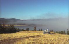 "colinjjones: "" Morning mist on Choelquoit Lake, British Columbia; Vw T3 Camper, Vw Bus, Camper Van, Campers, Vw Vanagon, Van Life, British Columbia, The Great Outdoors, Mists"