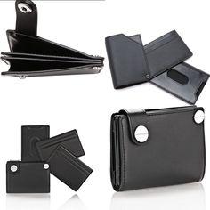 Alexander Wang Travel Mason Hinge Wallet in Black Rhodium Sold Out Last One   eBay