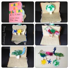 A pop-up Nahj Al Balagha made by the kids :)