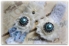 Lace Bridal Garter Vintage garter toss garter Bridal by WeddinGlam, $30.95