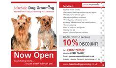 Dog Grooming Information Leaflet
