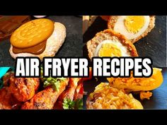 8 AIR FRYER RECIPES ~ WHAT TO COOK IN YOUR AIR FRYER 💙 - YouTube
