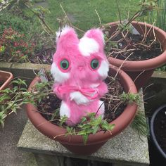 A personal favourite from my Etsy shop https://www.etsy.com/uk/listing/525154793/mini-mog-pink-cat-plush-toy-kawaii