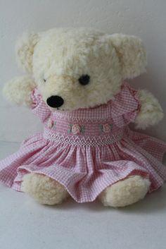 I think I'll make a dress for my big bear!