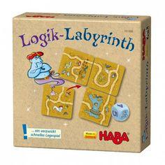El laberinto de la lógica - juego de encaje versión mini