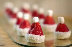 strawberry-santa-hats