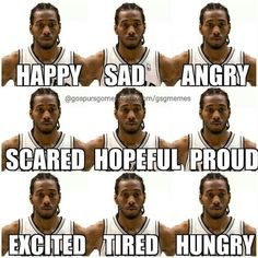 Spurs Kawhi Leonard - Funny Sports - - Spurs Kawhi Leonard The post Spurs Kawhi Leonard appeared first on Gag Dad. Nba Pictures, Funny Sports Pictures, Basketball Pictures, Sports Basketball, Basketball Players, Nba Players, Basketball Videos, Basketball Birthday, Basketball Legends