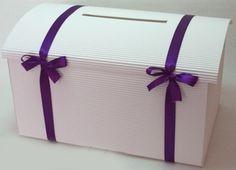 Svatba Hluboká nad Vltavou  - Svatba bez starostí - Svatební koordinátorka - Svatební pokladnička velká - fialová stuha - svatební pokladničky, truhličky na dary peníze Gift Wrapping, Gifts, Shopping, Gift Wrapping Paper, Presents, Wrapping Gifts, Favors, Gift Packaging, Gift