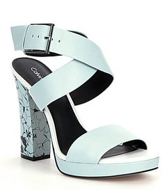 Calvin Klein Bao Sandals $139, available here: rstyle.me/~7Kfgr