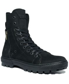 Mike - you need these shoes! Levi's Shoes, Canvas Sahara Hi Top Boots - Mens All Men's Shoes - Macy's $ 49.99