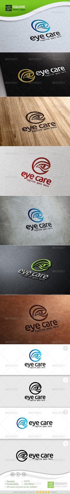 E, Eye Vector Logo Template — Photoshop PSD #diseases #defense • Available here → https://graphicriver.net/item/e-eye-vector-logo-template/5491947?ref=pxcr