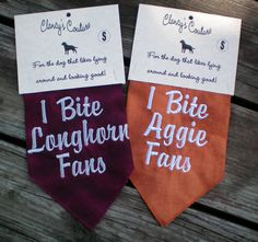 Texas AM Aggie University of Texas Longhorn by ImSewCrazyInTexas, $8.00