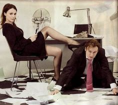 Keeley Hawes and Philip Glenister (Ashes to Ashes, brilliant UK TV series)