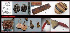 Nootka, Makah, Quileute, …. Sonagli di varia natura. Durante i complessi rituali si eseguivano delle danze, generalmente mascherate,  accompagnate da canti e dagli strumenti musicali tradizionali. Questi erano, come tra la maggior parte dei Nativi Americani, principalmente delle percussioni. Gli strumenti a fiato usati durante le cerimonie si limitavano a dei fischietti.