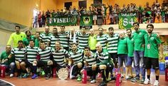 HANDBALL TEAM, season 2016/17: They started well by winning the first trophy, Viseu International Tournament. Benfica was victim in the final match...