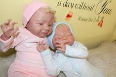 Paul and Paula By Denese Farmer - Reborns.com Reborn Nursery, Farmer, Adoption, Artist, Kids, Things To Sell, Reborn Baby Dolls, Bebe, Foster Care Adoption