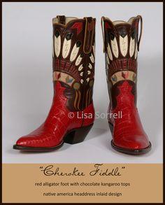 Lisa Sorrell, Artist and Master Bootmaker