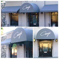 Craig's Restaurant in Los Angeles Los Angeles Restaurants, American, Places, Lugares