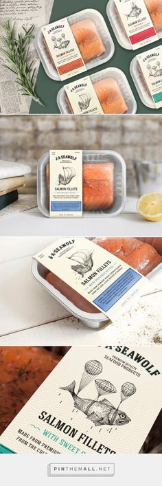J.A.Seawolf fresh fish by Janis Andersons (Concept) . Pin curated by #SFields99 #packaging #design
