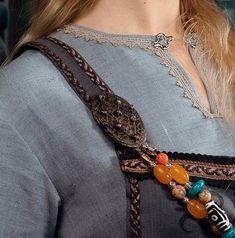 Viking Garb, Viking Reenactment, Viking Dress, Medieval Dress, Vikings, Viking Woman, Female Viking, Viking Embroidery, Renaissance Fair Costume