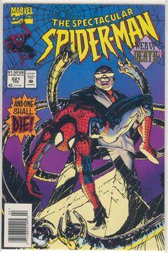 Title: Spectacular Spider-Man (Peter Parker) | Year: 1976 | Publisher: Marvel | Number: 221 | Print: 1 | Type: Regular | TitleId: 5d40f9ff-adb2-4cbd-8b93-352766854c89