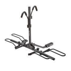 SportRack® Bike Rack – Crest 2 / SR2901B Bike Hooks, Bike Rack, Folded Up, Bike Storage Rack, Bike Hanger, Bicycle Rack