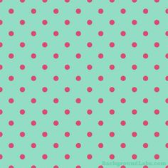 Pink and Mint Green Polka Dot - Background Labs