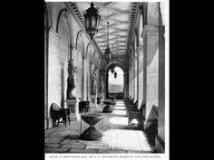 HOURGLASS TABLES Whitemarsh Hall loggia