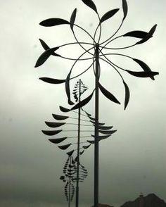 McPherson Park showcases wind art - Colleyville TX