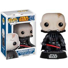 Star Wars Darth Vader Unmasked Pop! Vinyl Bobble head Figure #PopVinyl #Funko #FunkoPopVinyl #PopVinyls #Pop #Vinyl #FunkoPopVinyls #StarWars #UnmaskedVader #DarthVader