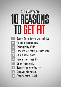 10 Reasons to Get Fit