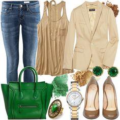 love the green bag