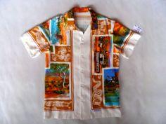 Front of Northern Territory Not Hawaiian Shirt. Nice.