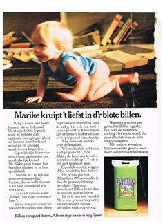 Oude advertentie Billies luiers 1974