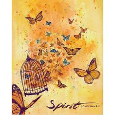 """Spirit of the Lord - 2 Corinthians 3:17, Now the Lord is the Spirit, and where the Spirit of the Lord is, there is freedom."""""""