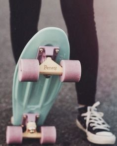 Tiffany blue penny board