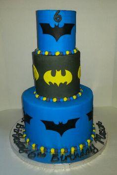 Batman cake. Www.facebook.com/clairescutecakes