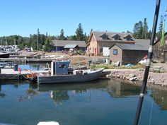 The Dockside Fish Market in Grand Marais, Minnesota specializes in fresh and smoked fish. Places To See, Places Ive Been, Grand Marais, Smoked Fish, Lake Superior, Day Trips, Lighthouse, Minnesota, Summertime