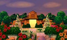 "mayor-mayumi: "" Aloha's Dream Address has been updated! It's now 6pm so everyone can enjoy a warm Summer evening with the lights on, other than that, nothing really changed lol. Please feel free to visit at 4F00-0023-14D9 and tag any posts with..."