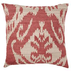 I got two of these in the Dijon color... love Ikat!