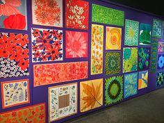 """From """"Signed By Vera: Scarves by an Iconic Designer"""" at the Goldstein Museum of Design."""
