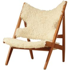 "Ib Kofod Larsen, ""Knitting Chair"" for Christensen & Larsen, 1950s."