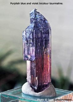 Purple Blue Tourmaline