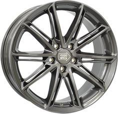 Alumiinivanne Mille Miglia M1007 Anthracite Dark | 8x18 | 5x112 | ET45 | KR72,2